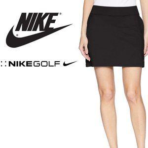NWT, NIke Golf Black Pockets Skort Skirt, XL